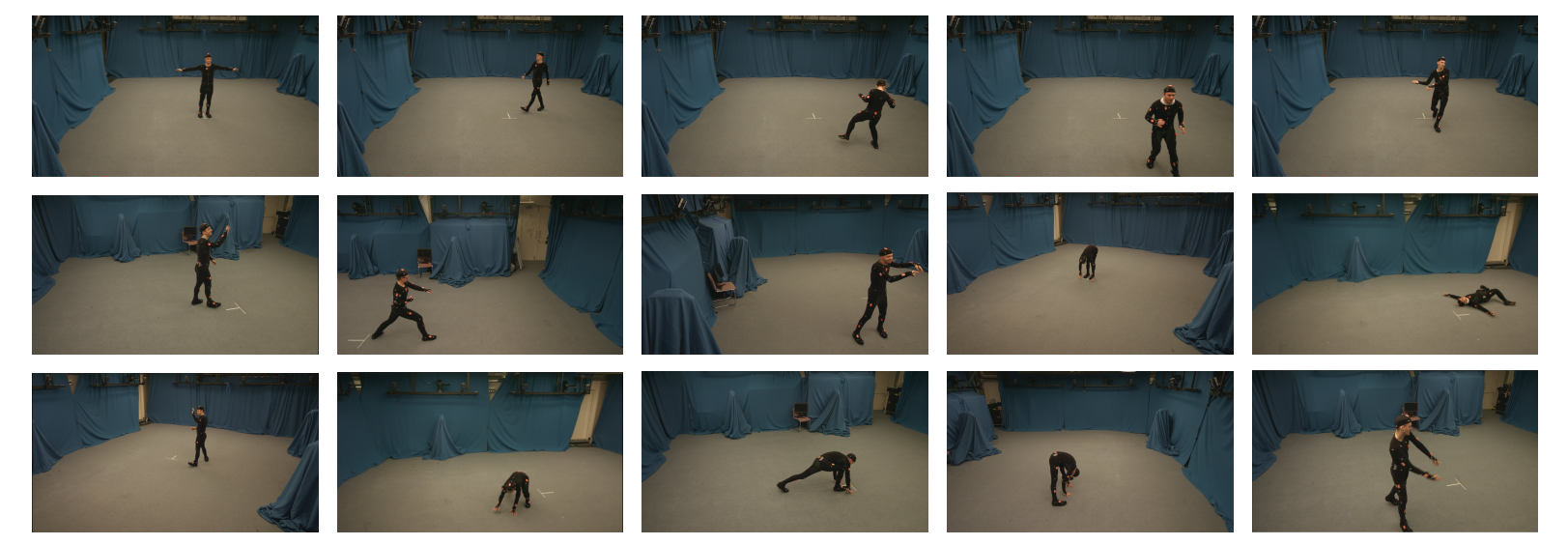 Total Capture: 3D Human Pose Estimation Fusing Video and Inertial